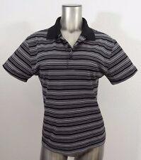 NIKE Golf women's golf polo shirt black & white S new