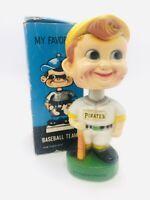 Pittsburgh Pirates 1970s Vintage Bobble PIRATES VINTAGE PLASTIC BOBBLE ORIG BOX