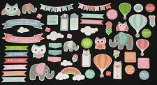 Kaisercraft 'LITTLE ONE' Collectables Die Cut Shapes Babies/Child *NEW* KAISER
