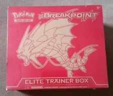 Pokemon XY9 Breakpoint Trading Card Game Elite Trainer Box