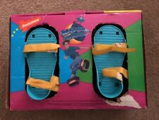 Rare Retro Vintage Nickelodeon Moon Shoes 1989