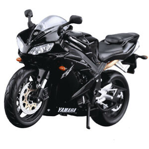 1:12 Yamaha R1 Simulation Alloy Motorcycle Toy Model Adult Collection
