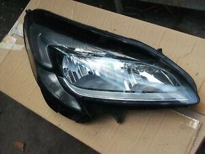 Corsa E drivers side headlamp, LED DRL, part 13381346 RH. For 2015-19 models..