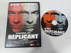 REPLICANT DVD + EXTRAS VAN DAMME RINGO LAM CASTELLANO ENGLISH