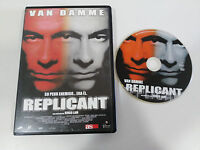 REPLICANT DVD + EXTRAS VAN DAMME RINGO LAM CASTELLANO ENGLISH