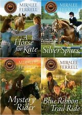 NEW Horses and Friends Set of 4 Stories Miralee Ferrell Horse for Kate Christian