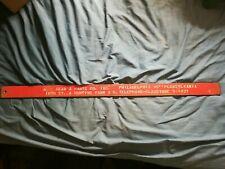 "Vintage Car Repair Garage Shop Heavy 35.5"" Metal Sign AC Gear & Parts Co. Phila."