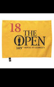 British Open royal st. george's golf Flag 149th pin flag New R&A Collin M PGA