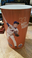 2015 NY Mets MATT HARVEY - LUCAS DUDA Stadium Issued Pepsi Soda Cup *MINT*