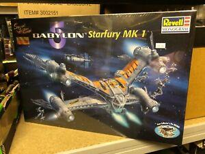 Boxed BABYLON 5 Starfury MK1 Spec Ed MODEL KIT 1998 REVELL Sealed B5 MONOGRAM