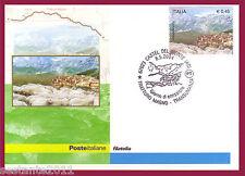 ITALIA MAXIMUM MAXI CARD 2004 TRANSUMANZA ANN. CASTEL DEL MONTE L'AQUILA A104/2