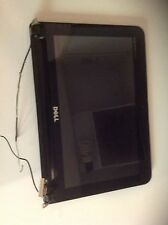 """Dell mini 10"""" cover with hinges, lcd, bezel, antennae wire & video plug"""