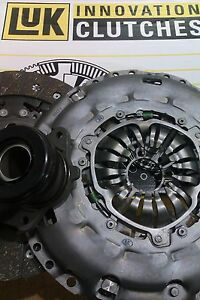FOR FORD MONDEO 115 TDCI 5 SPEED LUK CLUTCH KIT AND CSC FITS DUAL MASS FLYWHEEL
