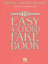 The Easy 4-Chord Fake Book Sheet Music Melody Lyrics & Simplified Chor 000118752