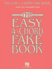 The Easy 4-Chord Fake Book Sheet Music Melody Lyrics & Simplified Chor 000118752