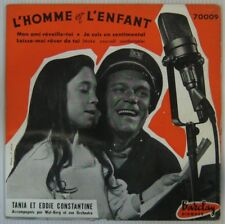 Eddie Constantine 45 Tours  1956
