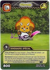 Carte DINOSAUR KING Attaque Alpha CHOMP DINO SPECIAL DKAA 083/100