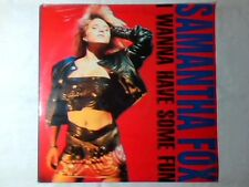 SAMANTHA FOX I wanna have some fun lp SIGILLATO ITALY BOLLAND