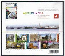 Blok 177** Antverpia 2010 Het Hart van Antwerpen 3985/90** Le Coeur d'Anvers MNH