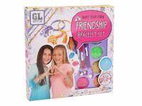 Childrens Make Your Own Colourful Friendship Bracelet Craft Set Style Kit 0545