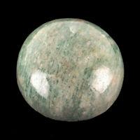 270 Cts Natural Amazonite Stunning 39mm Huge Round Cabochon Untreated Gemstone