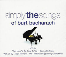 [BRAND NEW] 4CD: SIMPLY THE SONGS OF BURT BACHARACH: VARIOUS ARTISTS
