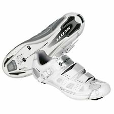 SCOTT Women's Road Pro Lady Cycling Shoe White/silver Gloss EU 42 US 9.5