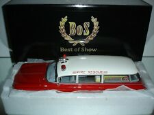 1:18 Bos  Buick Flxible Premier Ambulance Fire Rescue 1960