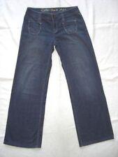 Esprit Damen-Jeans mit weitem Bein Normalgröße