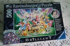 DISNEY Ravensburger Jigsaw Puzzle 500 Piece Brilliant
