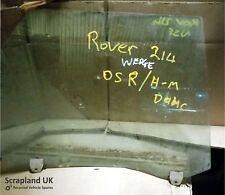 ROVER 200 214 R8 1989–1995 4-Door Hatchback Off Side Rear Window Glass