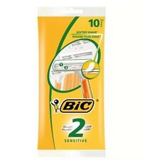 Original Bic 2 Men Disposable Razor Double Blade*Pack of 10* Limited Offer