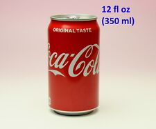 Coca Cola Japan Red Aluminum Can Short 350 ml 12 oz NEW Packaging Design FULL