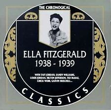 1938-39 Fitzgerald, Ella Audio CD