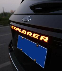 Limited Platinum Xlt Base Tailgate LED Light Bar For 2020-2021 Ford Explorer