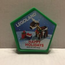 Official California Legoland Happy Holidays Scented Collectible Pop Badge