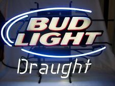 "Bud Light Draught Neon Sign 28"" x 20"" Enhance Holding Corp. Model #EH-9030A"