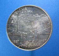 CZECH REPUBLIC CZECHOSLOVAKIA 500 KORUN 1987 SILVER KM 136 #1078#
