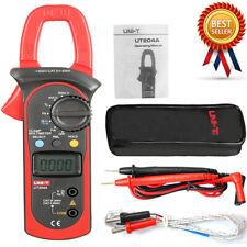 UNI-T UT204A Digital Handheld Clamp Multimeter Tester DMM Voltmeter AC DC Meter