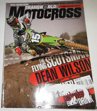 Transworld Motocross Magazine Dean Wilson & FMF Power August 2011 071714R1
