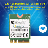 2.4G/5G Dual Band Wireless AC 300Mbps WIFI Bluetooth4.0 NGFF/ M2 Card For Laptop