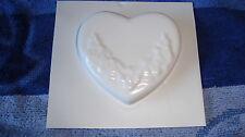 1 Herz mit Ornament Gießform Seifenform
