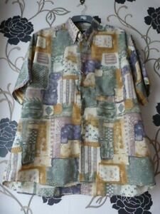 MULTI-COLOURED  HAWAIIAN  SHIRT SIZE  XXL OR 48/ 50 INS CHEST (only worn twice)
