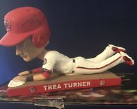 Trea Turner AUTOGRAPHED Bobblehead - Washington Nationals 2017 SGA