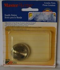 MASTER PLUMBER large SMOKED Knob Handle Buttons Delta Peerless New in package