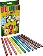 *** Crayola 10 Ct Silly Scents Washable Scented Markers