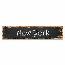 SP0007 New York Street Sign Bar Store Shop Pub Cafe Home Chic Decor