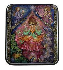 Kholui Russian Lacquer Box Cinderella #4232