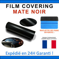 100 x 152cm Mate 3D Noir Film Vinyle Sticker Covering THERMOFORMABLE DISCOUNT