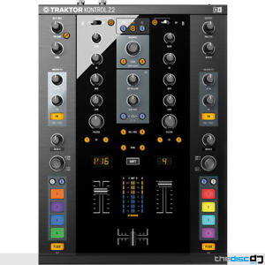 Native Instruments Traktor Kontrol Z2 DJ Mixer, DVS, Traktor Scratch Pro 2